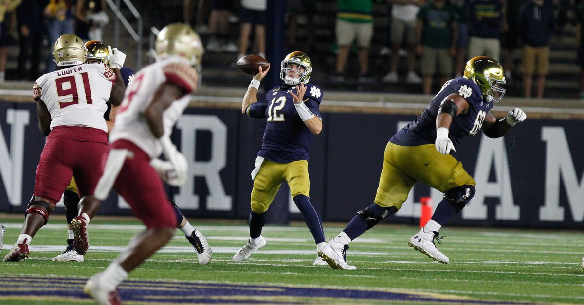 notre dame football schedule - photo #10