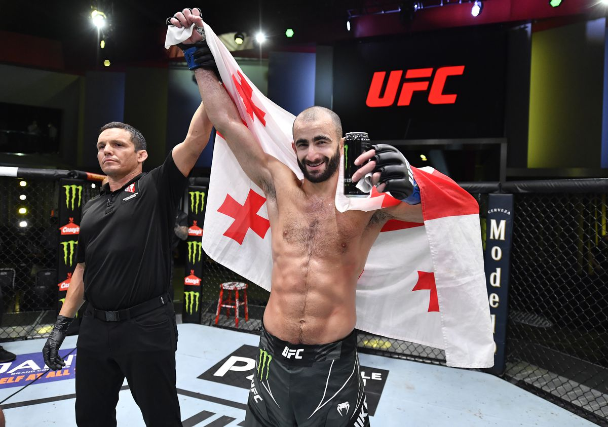 UFC Fight Night: Barboza v Chikadze