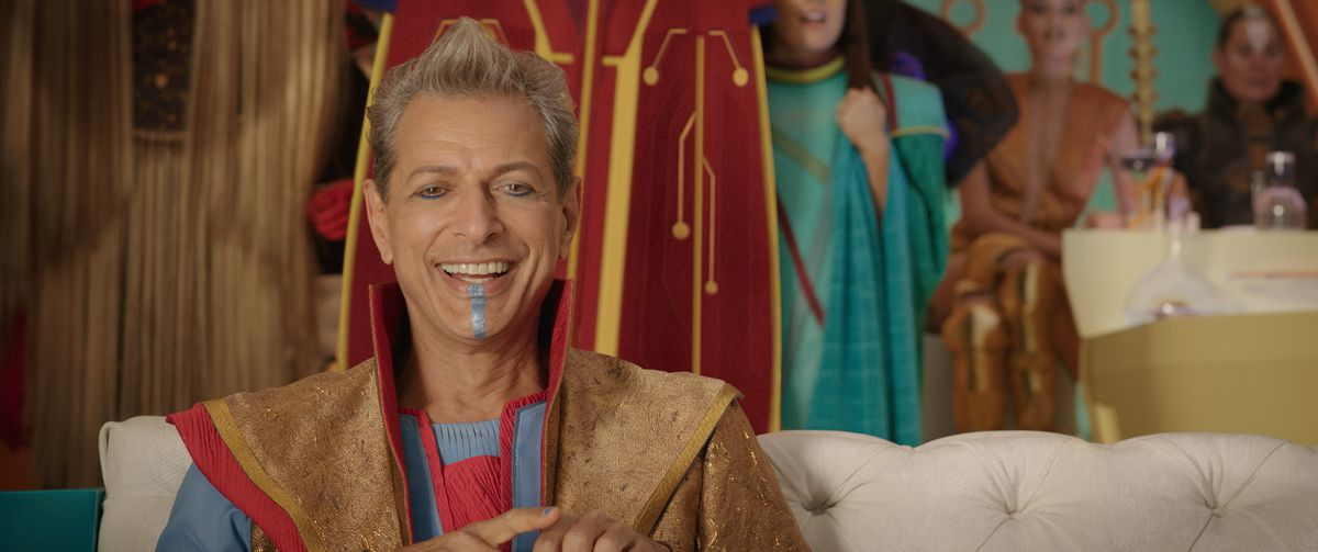 Thor: Ragnarok - Jeff Goldblum as the Grandmaster
