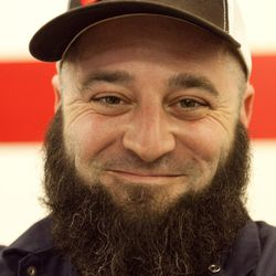 Dave Coleman of 3 Stars Brewing Company, and his massive beard.