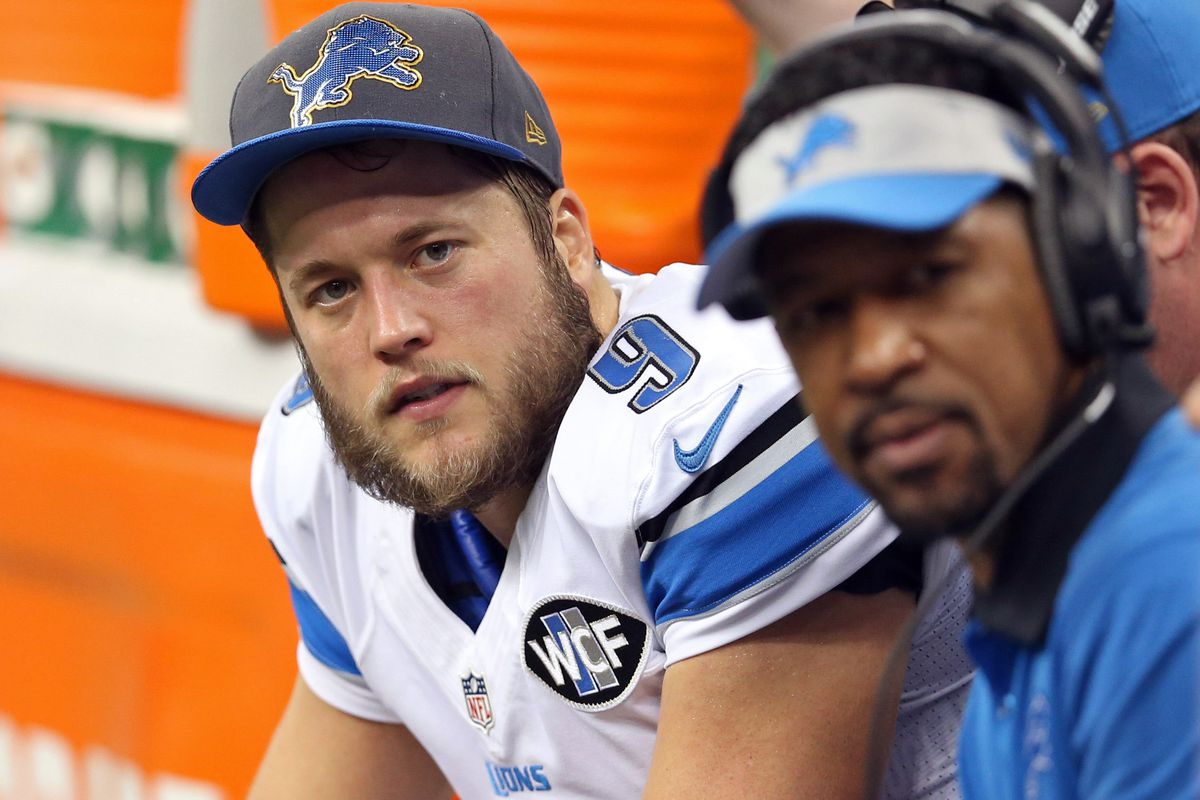 The Detroit Lions Court Of Fan Opinions Matthew Stafford Pride Of