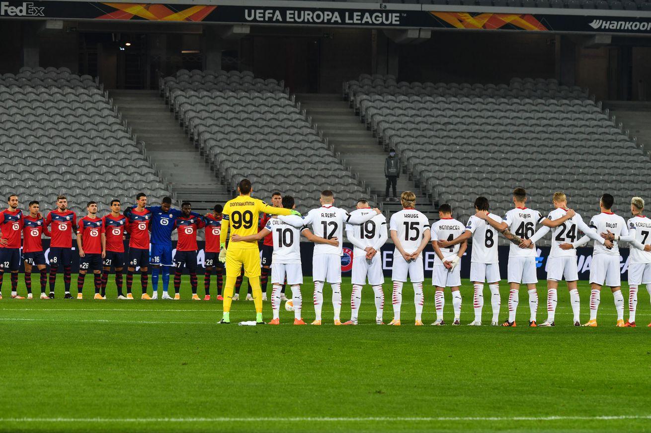 Milan Player Ratings: Milan 1-1 Lille