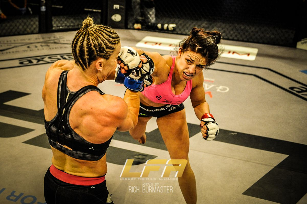 Mackenzie Dern 'more confident' in strawweight return after LFA 24 win, eyeing one more fight in 2017