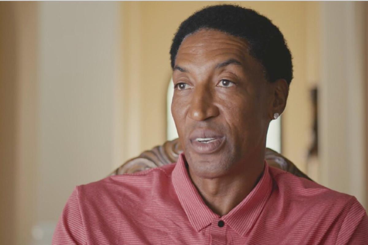 """Scottie Pippen in ESPN's """"The Last Dance."""""""