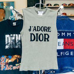 'J'Adore Dior' Dior tank, $128