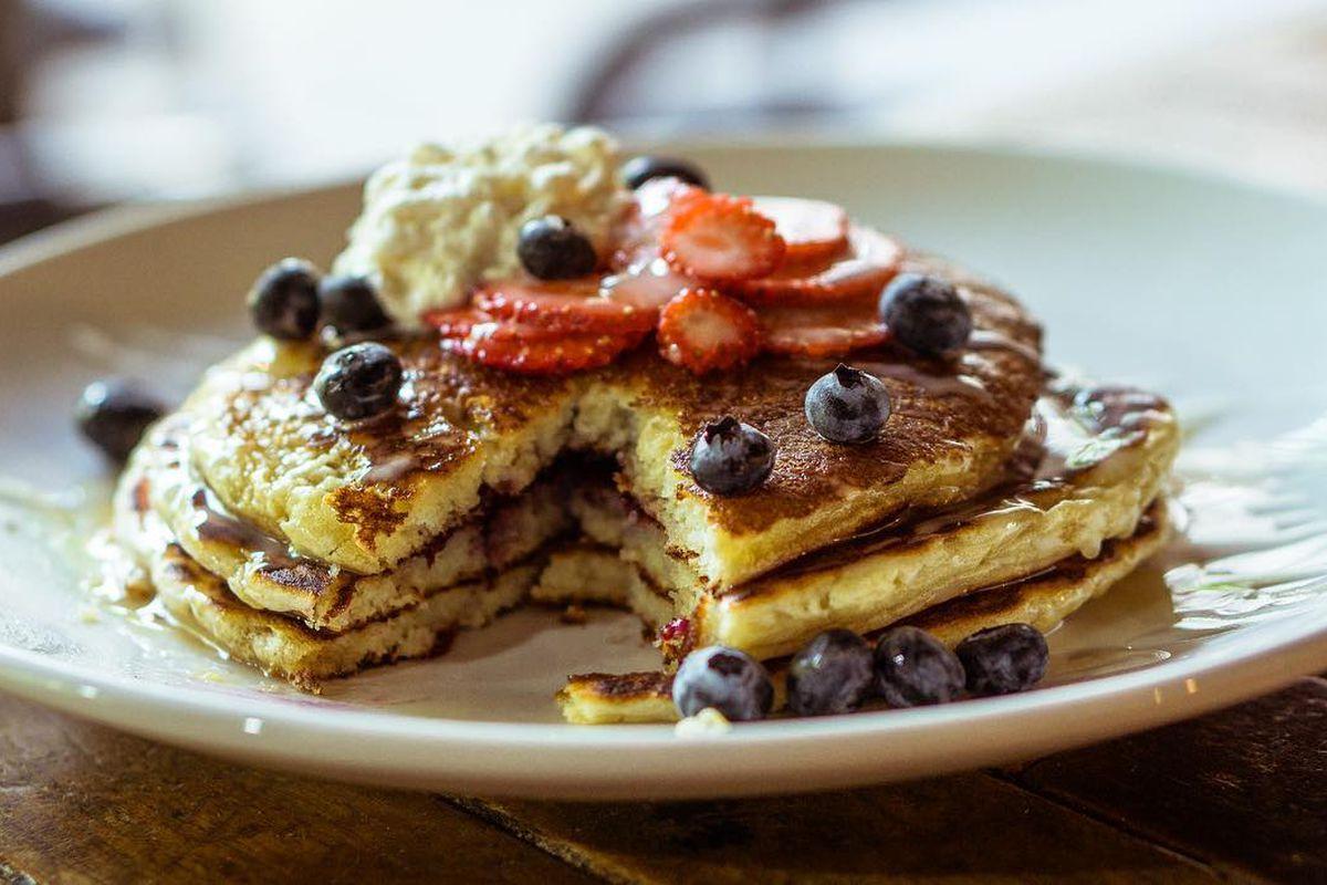 Austin Java's pancakes