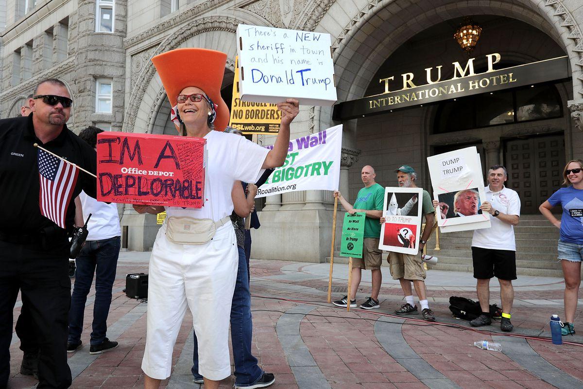 Trump International Hotel Opens In D.C.