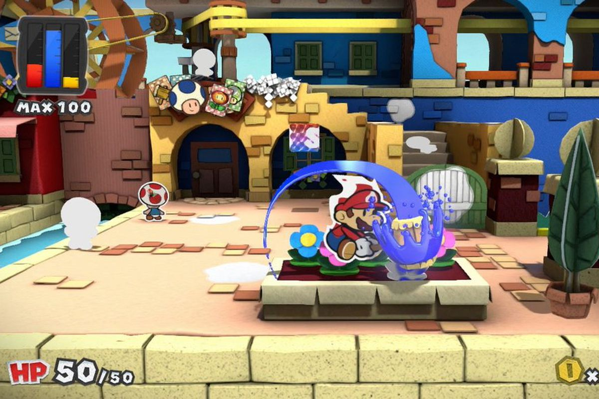 A New Paper Mario Is Coming To Wii U Later This Year The Verge