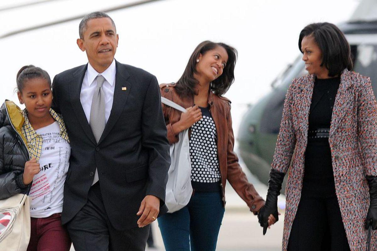 f11eb3a9f49 Malia and Sasha Obama  What Mom s memoir reveals about their White House  years