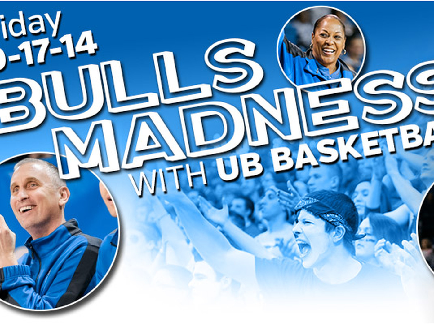 Buffalo Basketball Kicks Off The Season With Bulls Madness Bull Run