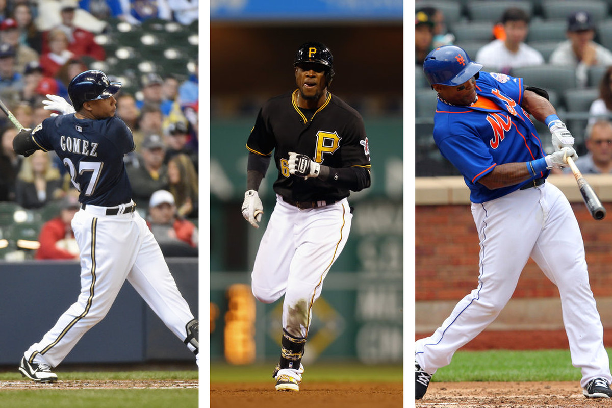 Gomez, Marte, and Byrd have spit in the face of plate discipline.