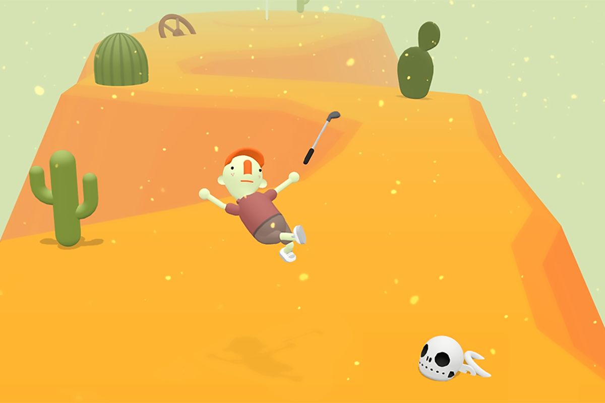 What the Golf is a weird new golf game coming to the Apple Arcade launch on Nov 19