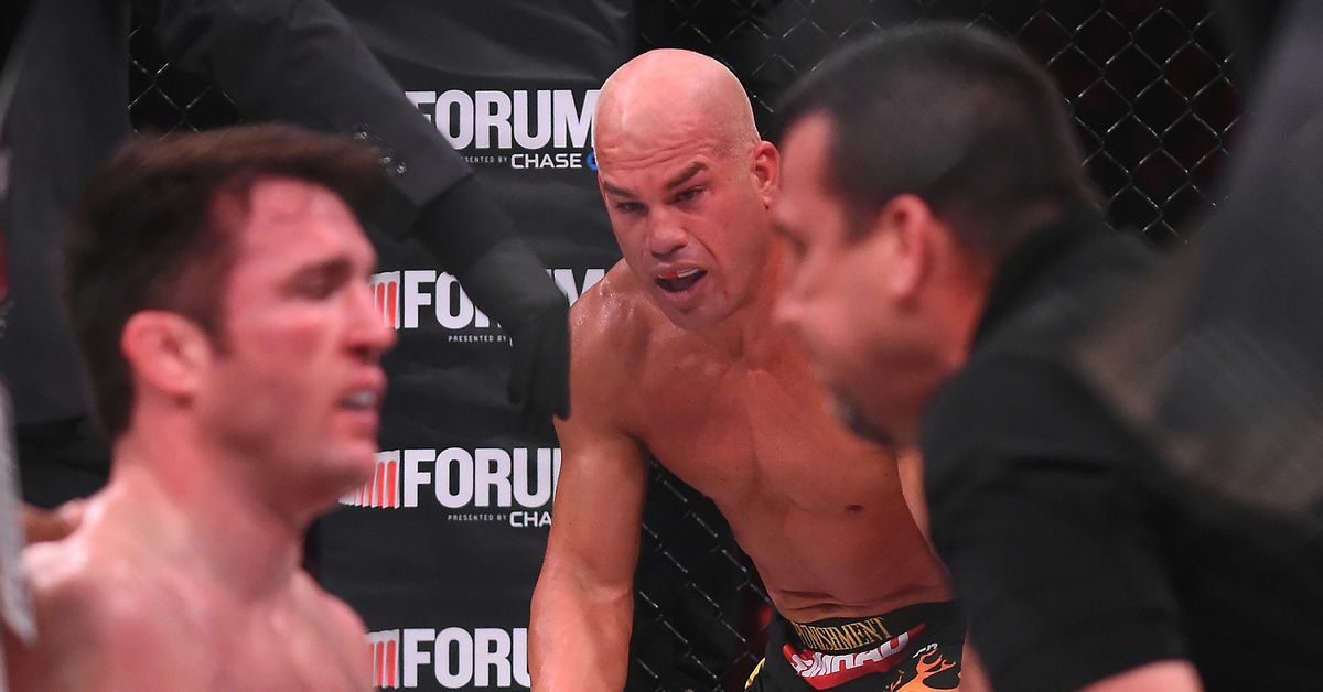 Chael Sonnen mocks Tito Ortiz after 'fraudulent,' 'phony-baloney' win over Del Rio gets overturned