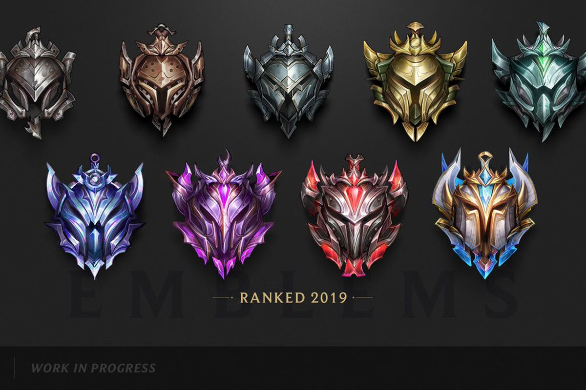 New versions of ranked visuals for 2019 season revealed - The Rift