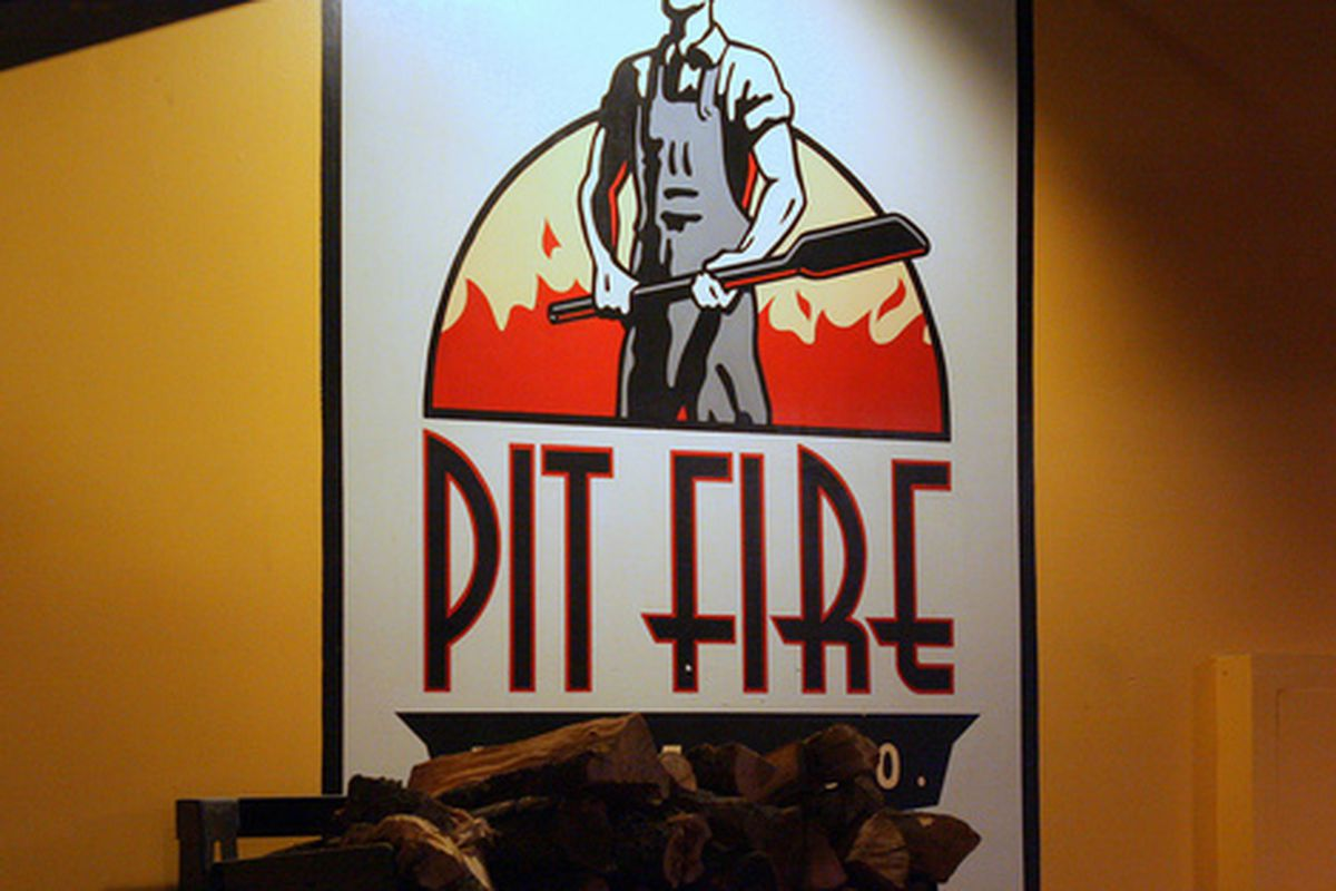 Inside Pitfire Pizza, North Hollywood.