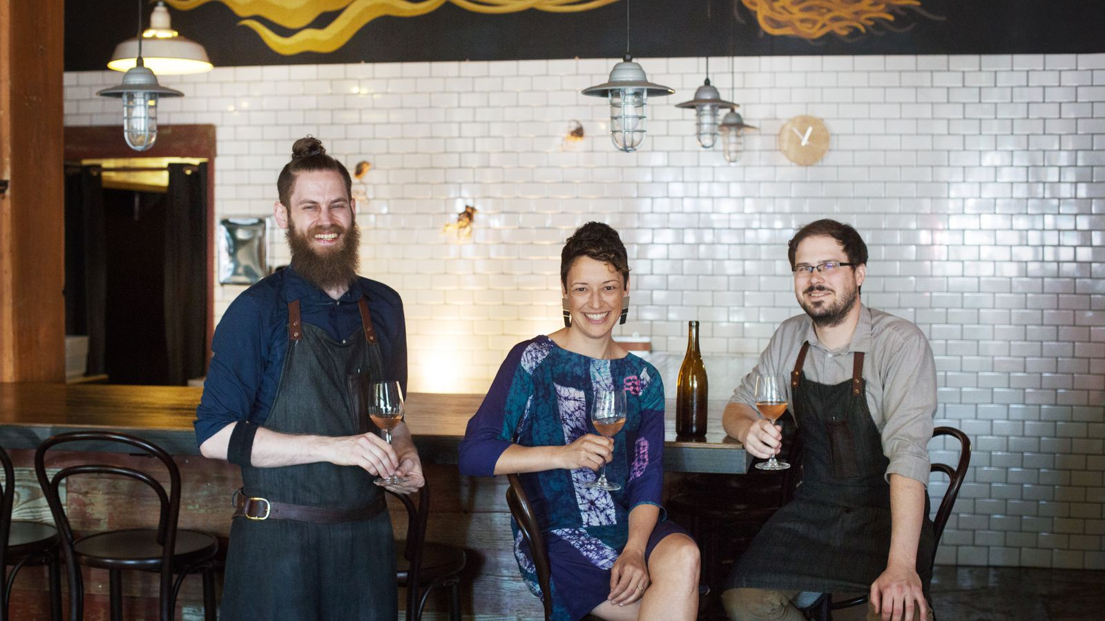 Sommelier Dana Frank IN At Holdfast Dining Eater Portland