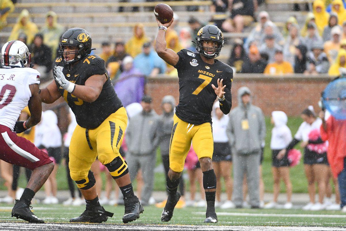 NCAA Football: Troy at Missouri