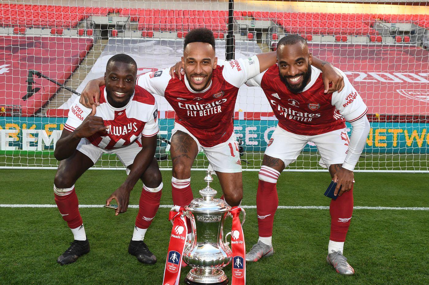 Arsenal quiere empezar la temporada con un título, tal cual como terminó la temporada pasada.