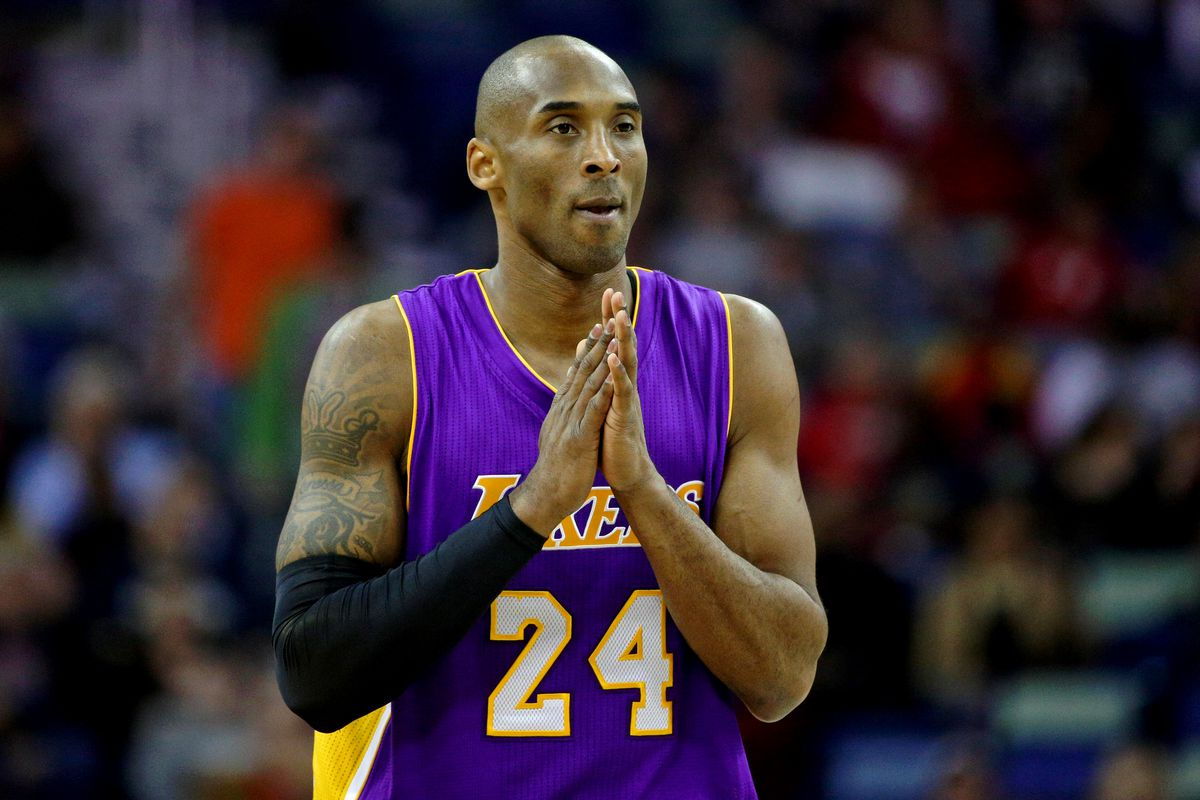Kobe is praying he can come back healthy next year...