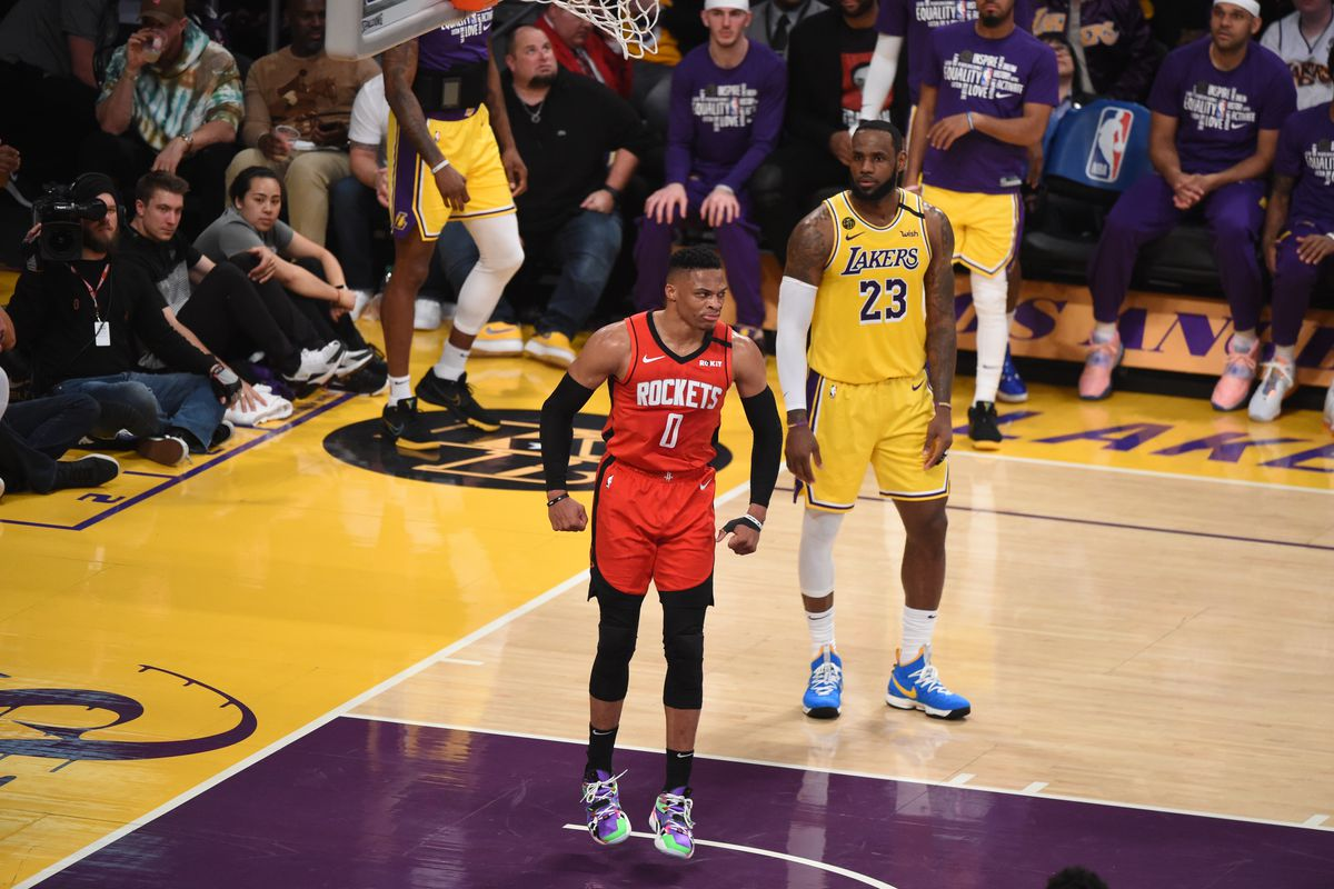 Lakers Vs Rockets Final Score Houston Stuns L A With Small Ball Silver Screen And Roll