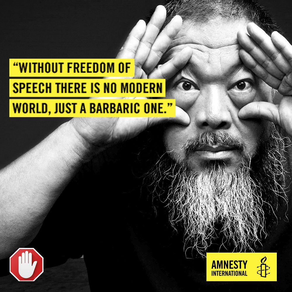 ai weiwei amnesty campaign