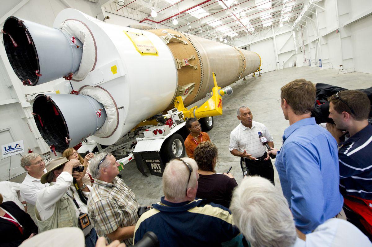 NASA Introduces Atlas V Booster