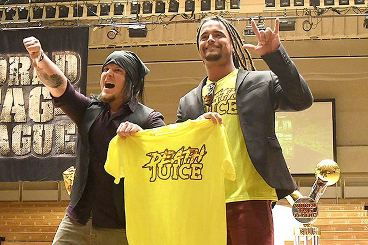 NJPW World Tag League Day One results: Death Juice vs. LIJ
