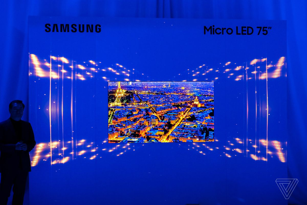 Samsung's 75-inch MicroLED 4K TV is a huge step into the future