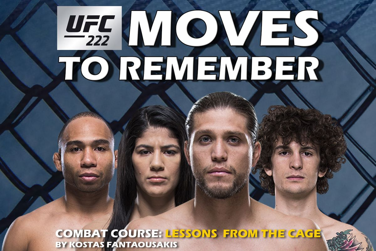 ufc 222 play by play