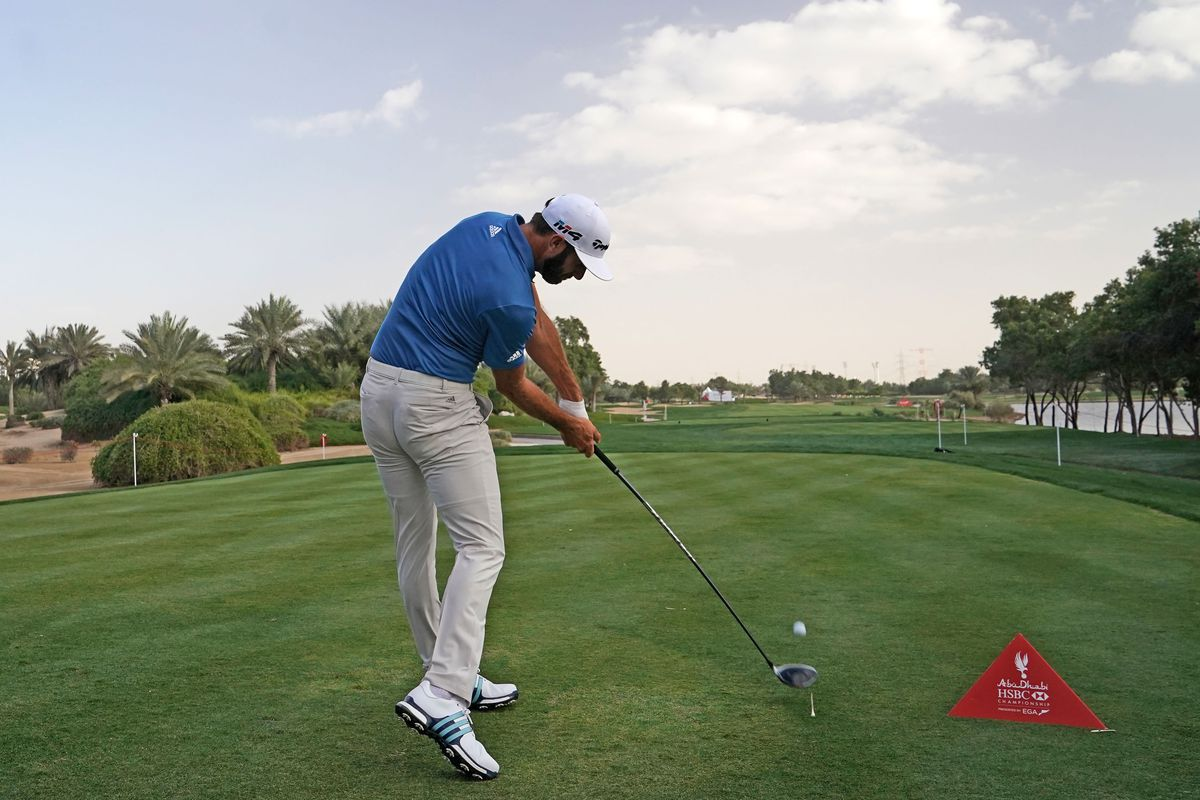 DJ sends one into the Abu Dhabi sky this week on the Euro Tour