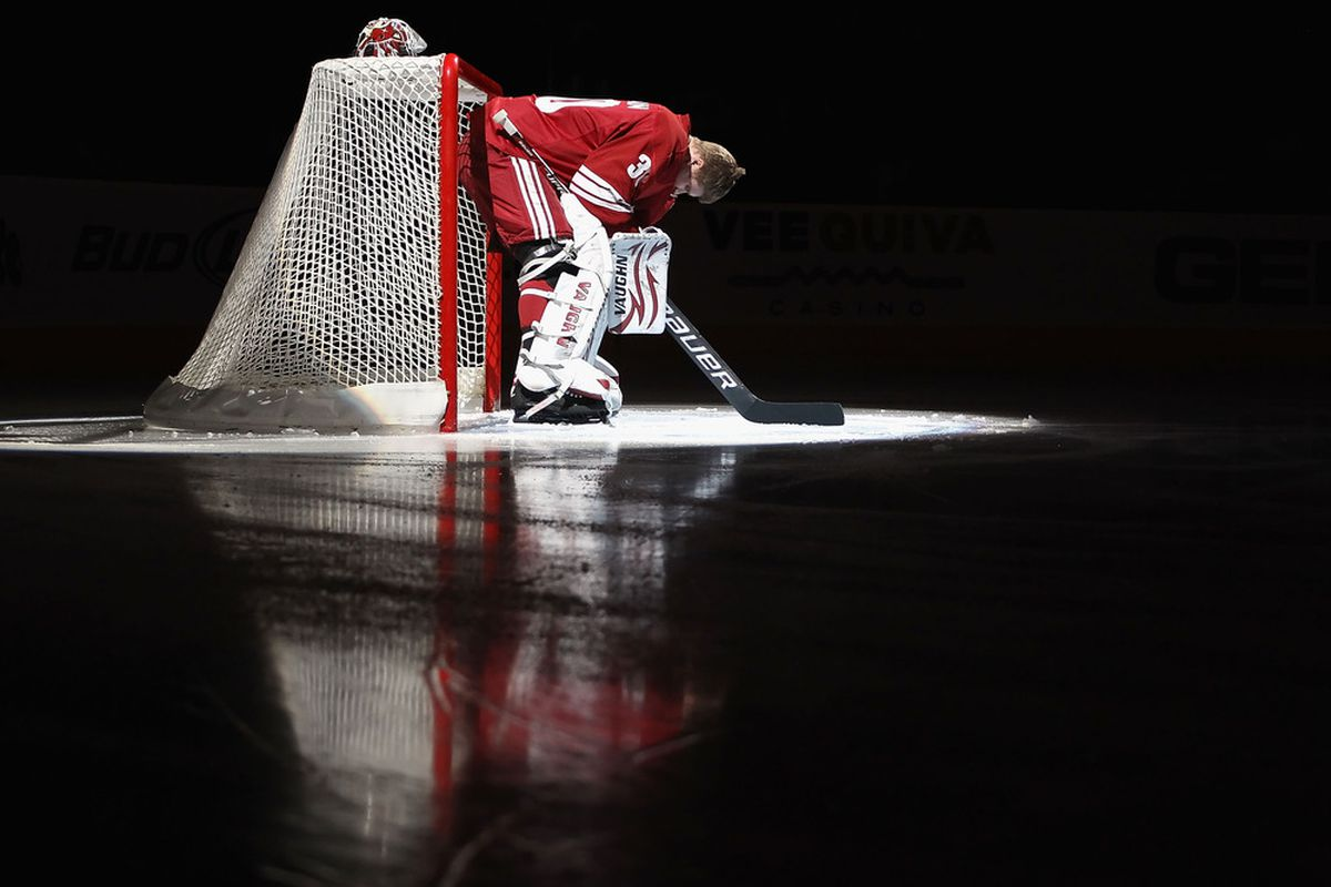 Bryz is playoff ready and focused for success! (Photo by Christian Petersen/Getty Images)