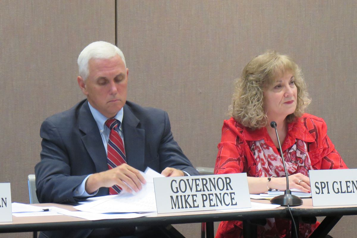 Gov. Mike Pence and state Superintendent Glenda Ritz battled over education policy for years, but they agreed on dumping Common Core and PARCC.