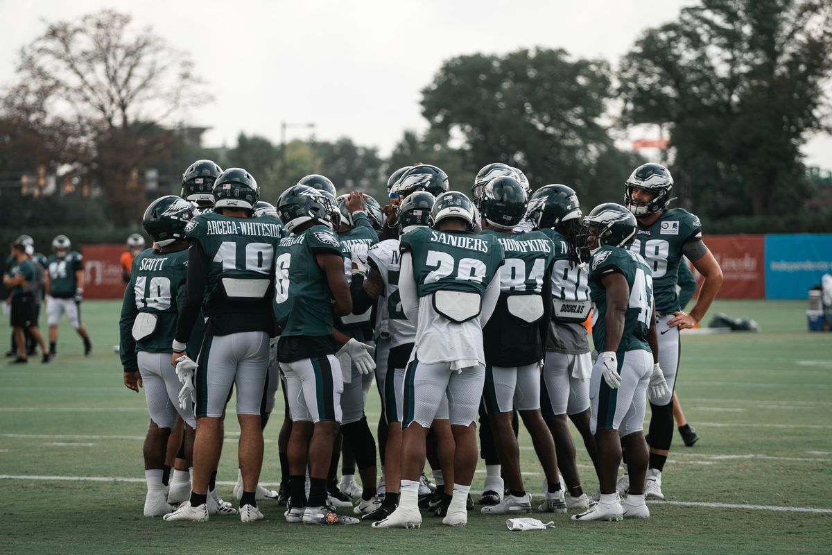 Eagles training camp practice live updates: August 6, 2019 - Bleeding Green  Nation