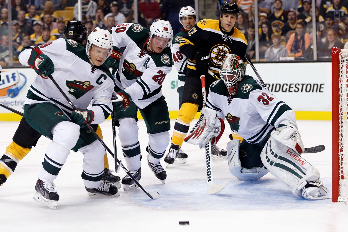 The WIld continue to play well in Boston.