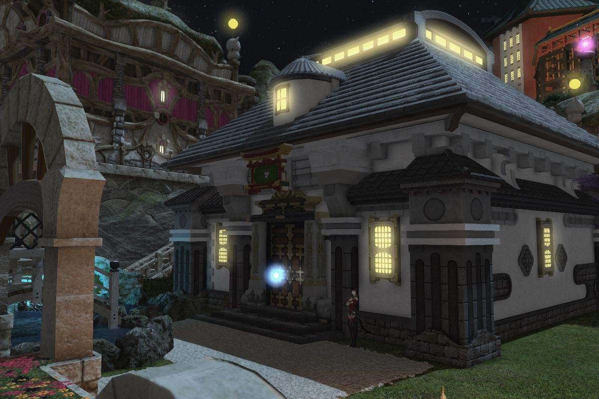 A house in Final Fantasy 14