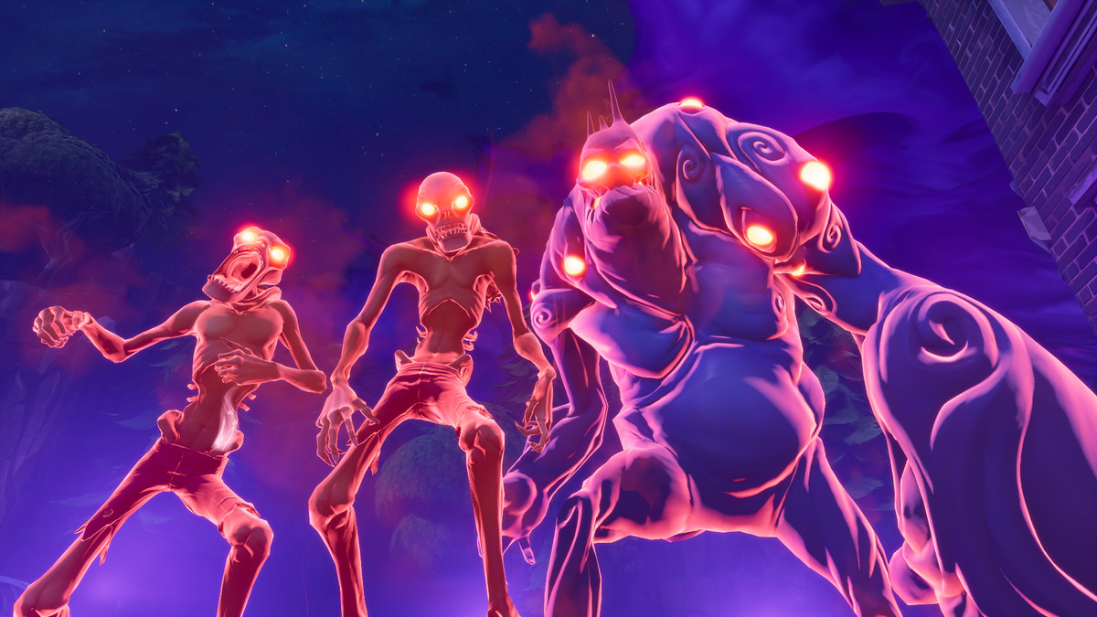 The original, zombie-like adversaries from the base Fortnite experience.