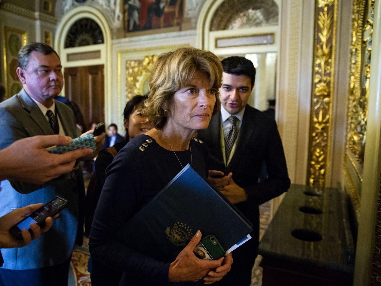 Sen. Lisa Murkowski (R-AK)emphasizes listening to Kavanaugh's accusers.