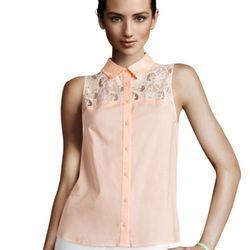 """<a href=""""http://www.hm.com/us/product/98975?article=98975-A#&campaignType=K&shopOrigin=QL"""">Lace blouse</a>, $9.95"""