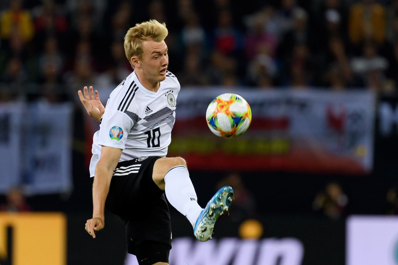 Julian Brandt hopes for more playing time and a system change against Northern Ireland