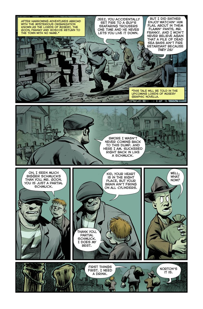 The Goon, 20 years later: Eric Powell on new comics