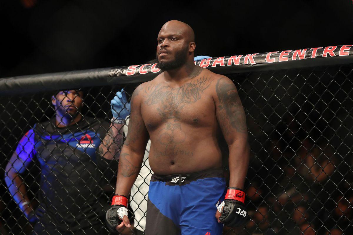 UFC Austin's Derrick Lewis doing more than just 'half-ass ...
