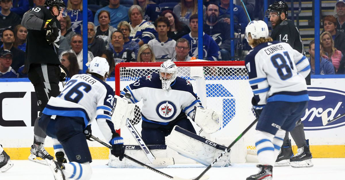 Recap: Winnipeg Jets eke out a win in Tampa - Arctic Ice Hockey
