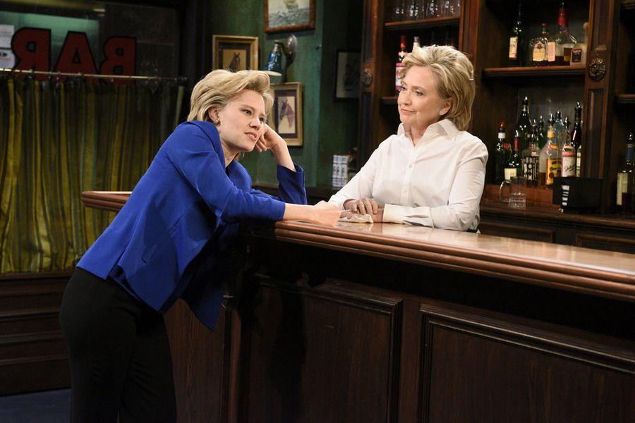 Hillary Clinton on Saturday NIght Live.
