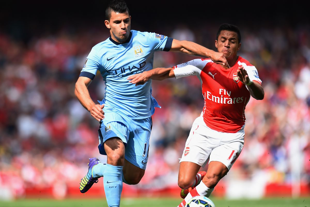 It should be a pitched battle as Aguero welcomes Alexis to the Etihad