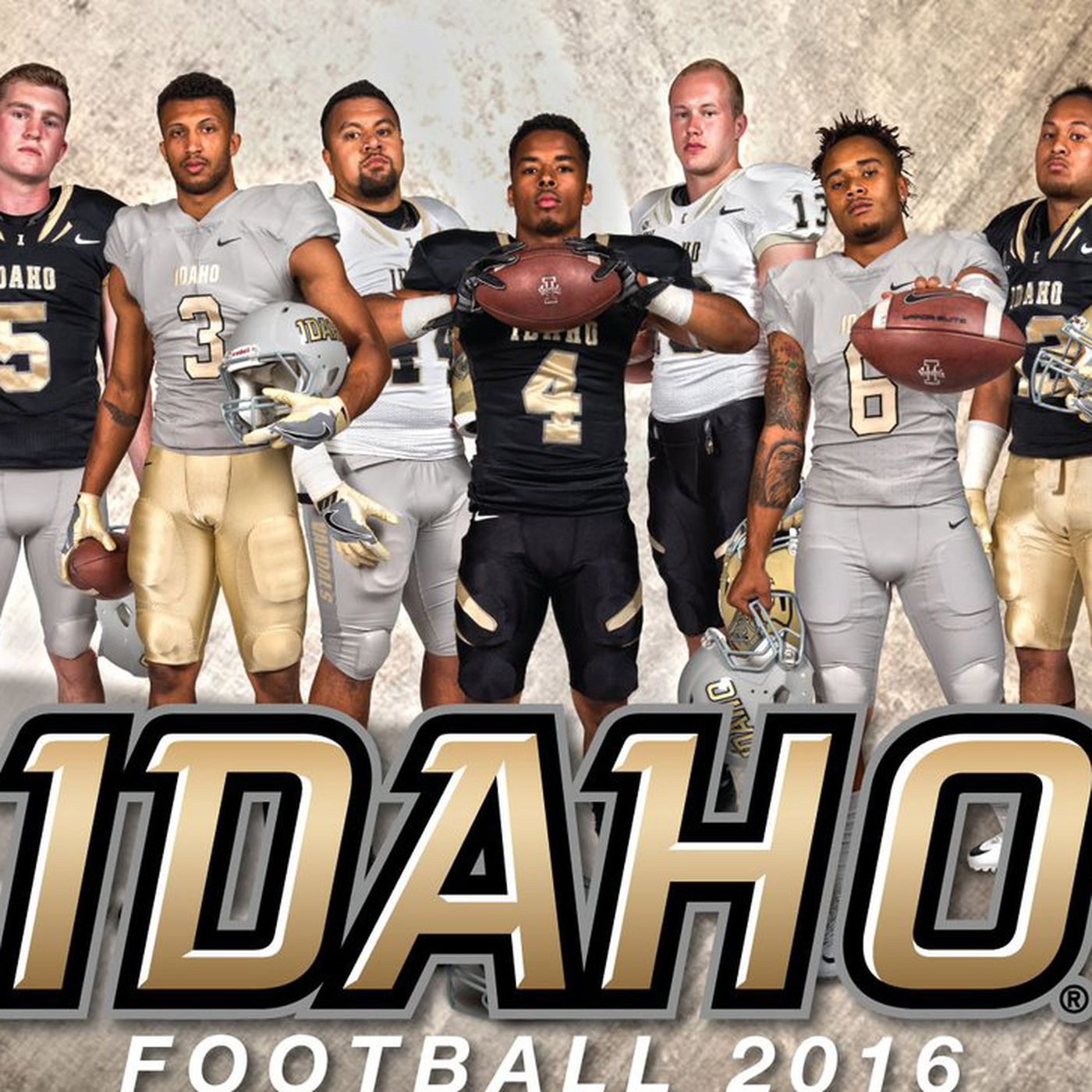 innovative design b7e5a 3d4f8 Idaho released new uniforms and they're... interesting ...
