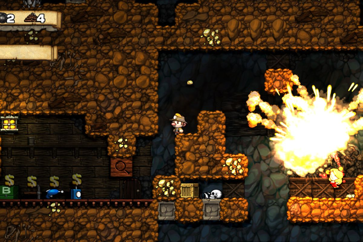 xbla version of spelunky coming home to pc this summer polygon