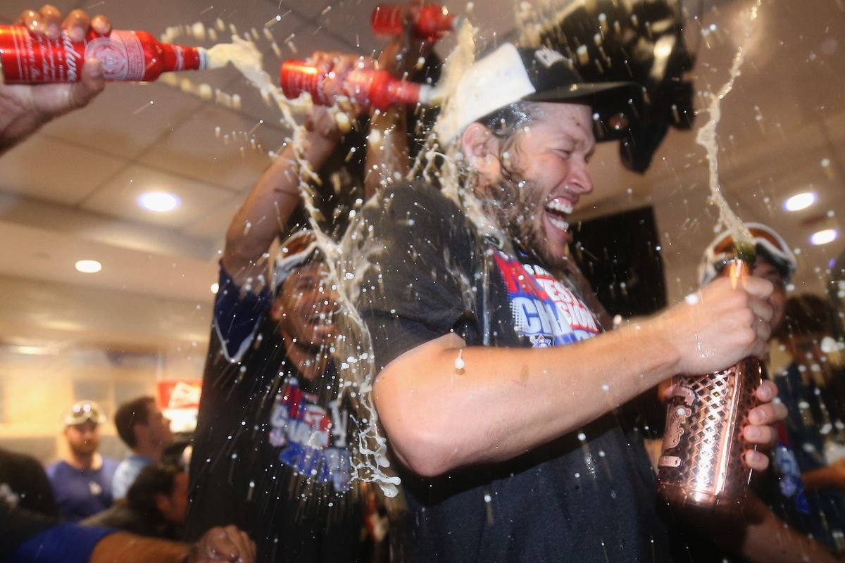 This is not how Clayton Kershaw celebrated winning both the Cy Young and MVP