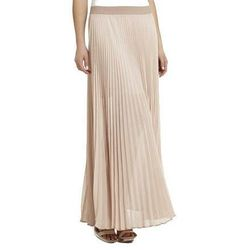 "<b>BCBG</b> Estelle Sunburst-Pleated Maxi, <a href=""http://www.bcbg.com/Estelle-Sunburst-Pleated-Maxi-Skirt/SJG3E723-6D6,default,pd.html?dwvar_SJG3E723-6D6_color=6D6&cgid=clothing-by-category-skirts#start=6"">$228</a>"