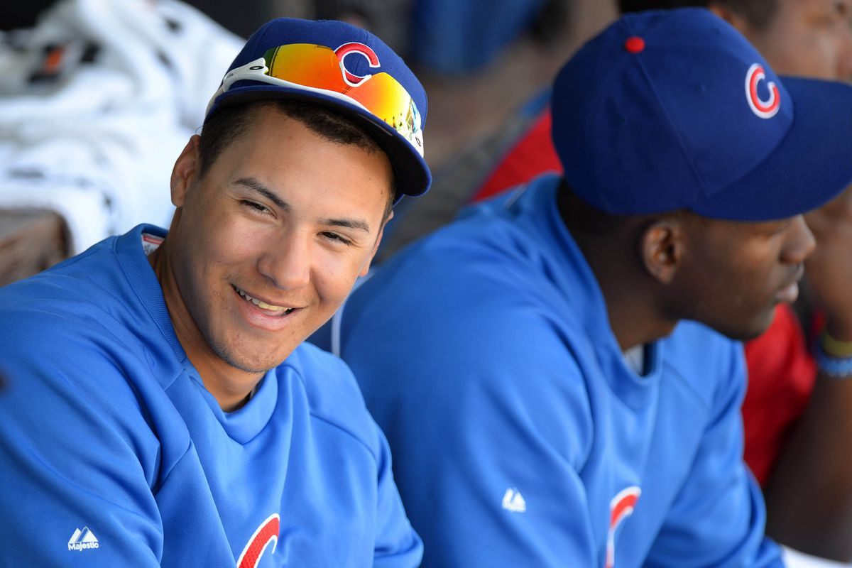 Show us those pearly whites, Javy!