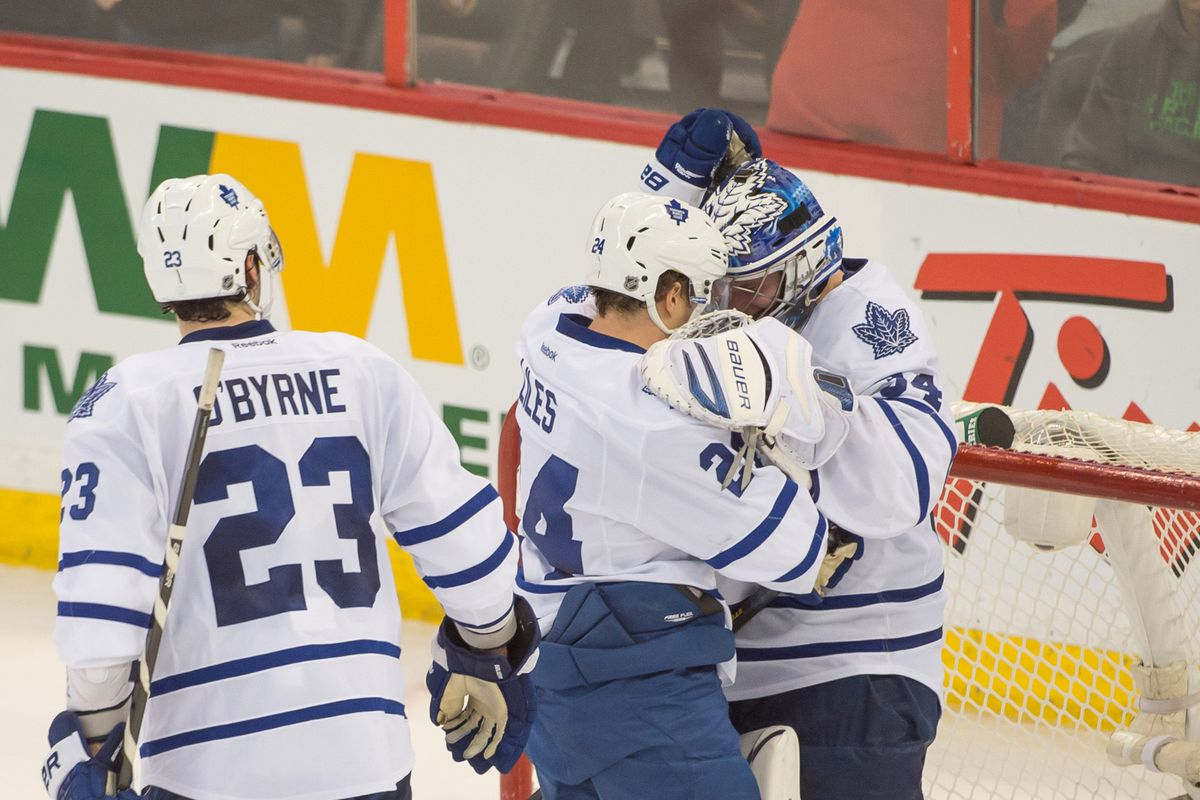55835910f NHL Scores  Maple Leafs end nine-year playoff drought with win in Ottawa
